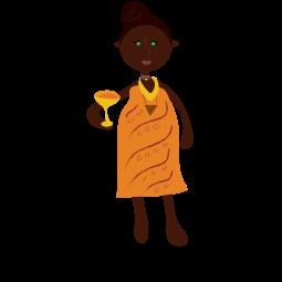 Orange Woman-01