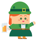 St. Patrick's Day 2019 Girl-01