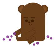 book march 2019 little bear - blueberries for sal-01