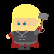 Avengers Endgame 2019 Thor-01