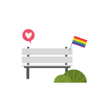 Pride Month 2019 Bench-01