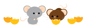 Chinese New Year 2020 Rats-01